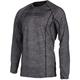 Black Heather Aggressor 1.0 Base Layer Shirt