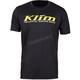 Black/Yellow K Corp SS T-Shirt