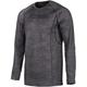 Black Heather Aggressor 3.0 Base Layer Shirt