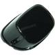Black LED Squareback Taillight w/License Plate Window w/Smoke Lens - LLC-SQTL-CB