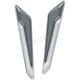 Chrome L.E.D Fork Inserts - 3252