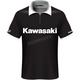 Black Kawasaki Team Pit Polo Shirt