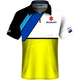 White/Yellow Suzuki Team Pit Polo Shirt