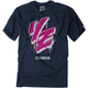 Youth Navy Yamaha Drip T-Shirt