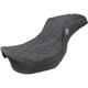 Black Pro Series SDC Performance Gripper Seat w/o Drivers Backrest - SC80604DB