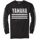 Black Yamaha Racer Long Sleeve Shirt