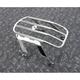 Chrome Detachable Solo Luggage Rack - 602-2514