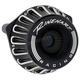 Black Moto Series Inverted Air Cleaner for Fly-By-Wire - 910-0101
