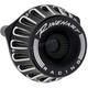 Black Moto Series Inverted Air Cleaner - 910-0102
