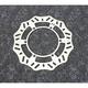 Steel Rear Brake Rotor - 1711-1422
