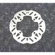Steel Rear Brake Rotor - 1711-1423