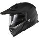 Matte Black Blaze Adventure Helmet
