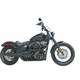 Black 2 into 1 X-Series High Exhaust System - 1362XB