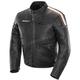 Black/Brown/Cream Dakota Leather Jacket