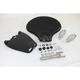 Black Corbin Gentry Leather Solo Seat Kit - 47-0195