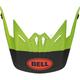 Youth Matte Green/Black/Infrared Visor for Moto-9 MIPS Glory Helmets - 7116766