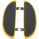 14 in. Black Banana Boards w/Black Rivets - 105-G