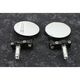 Black 7/8 in. Bar End Mirrors - OX577