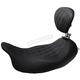 Wide Tripper Solo Seat w/Removable Driver Backrest - 79725