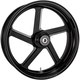 Black Ops Pro-Am One Piece Aluminum Wheel for Dual Disc w/o ABS - 12027106RPROSMB