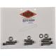 Polished Stainless Socket Cap Motor Mount Bolt Kit - DE467SCHP