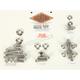 12-Point Polished Stainless Steel Custom Transformation III Kit - PB637S