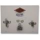 Polished Stainless 12-Point Motor Mount Bolt Kit - PB931S