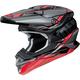 Gray/Red/Black VFX-EVO Allegiant TC-1 Helmet