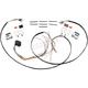 Handlebar Wiring Harness w/Chrome Switch Housing - GMA-HBWH-C