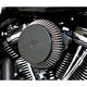 Black  Plain Cover Big Air Cleaner - LA-2392-01B