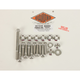 Polished Stainless 12-Point Motor Mount Bolt Kit - PB896S