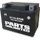 AGM Maintenance-Free Battery - 2113-0748
