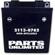 AGM Maintenance-Free Battery - 2113-0762