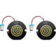 Red Wide View LED Turn Signal 1157 Inserts - AC1157PAR