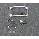 Chrome Plug and Play LED Radius License Plate Frame - TF06-BCM-C