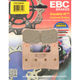 Front Double H Sintered Metal Brake Pads - FA724HH