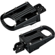 Black Driver Punisher Footpegs - 7006-203-03
