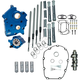 Chain Drive 475C Cam Chest Kit with Chrome Pushrod Tubes for Oil Cooled M8 Models - 310-1004A