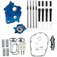 Chain Drive 475C Cam Chest Kit,with Black Pushrod Tubes for Oil Cooled M8 Models - 310-1012A