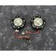 Black ProBEAM Bullet Ringz Turn Signals w\Smoke Lens - PB-BR-RR-57-BS