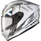 White/Silver EXO-R420 Distiller Helmet