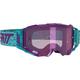 Aqua Velocity 5.5 Iriz Goggles w/Purple Mirror Anti-Fog Lens - 8020001010