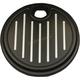 Black Ball Milled Fuel Door - 908325B