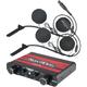 Wide Intercom w/In Helmet Headset - NIH210PK