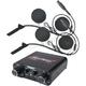 Compact Intercom w/In Helmet Headset - NIH110PK