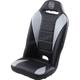 Black/Grey Front Bucket Seat w/Pocket  - ROXGRYPOC
