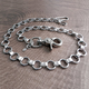 Chrome Bottlecap Wallet Chain - NC138-25