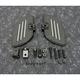 Black Commander Driver Floorboards - 21-359BK