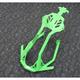 Lime Green Aluminum Front Bumper - ACFB405-LGRN
