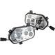 Chrome LED Headlight - 20012224